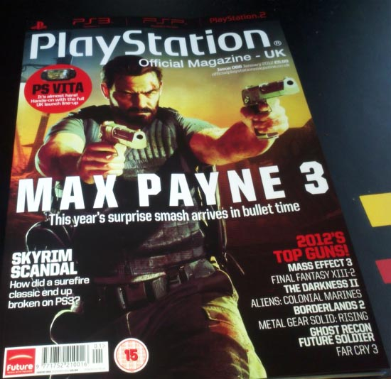 official playstation magazine janvier 2012 n66 - GTA5france.com