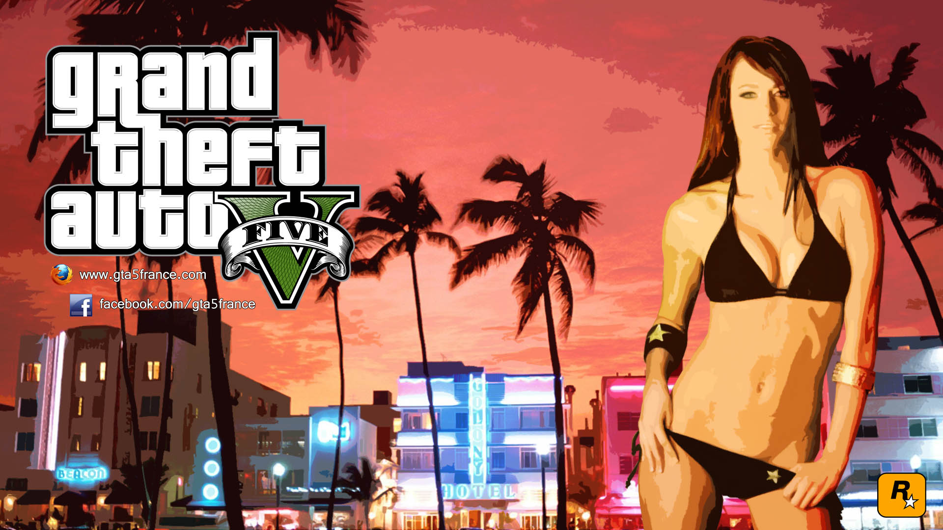 GTA 5 Sexy Wallpapers