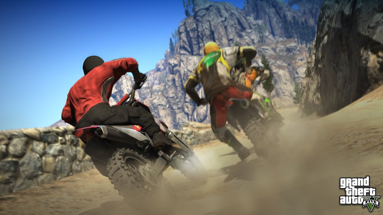 Course de Motos-cross - GTA5france.com