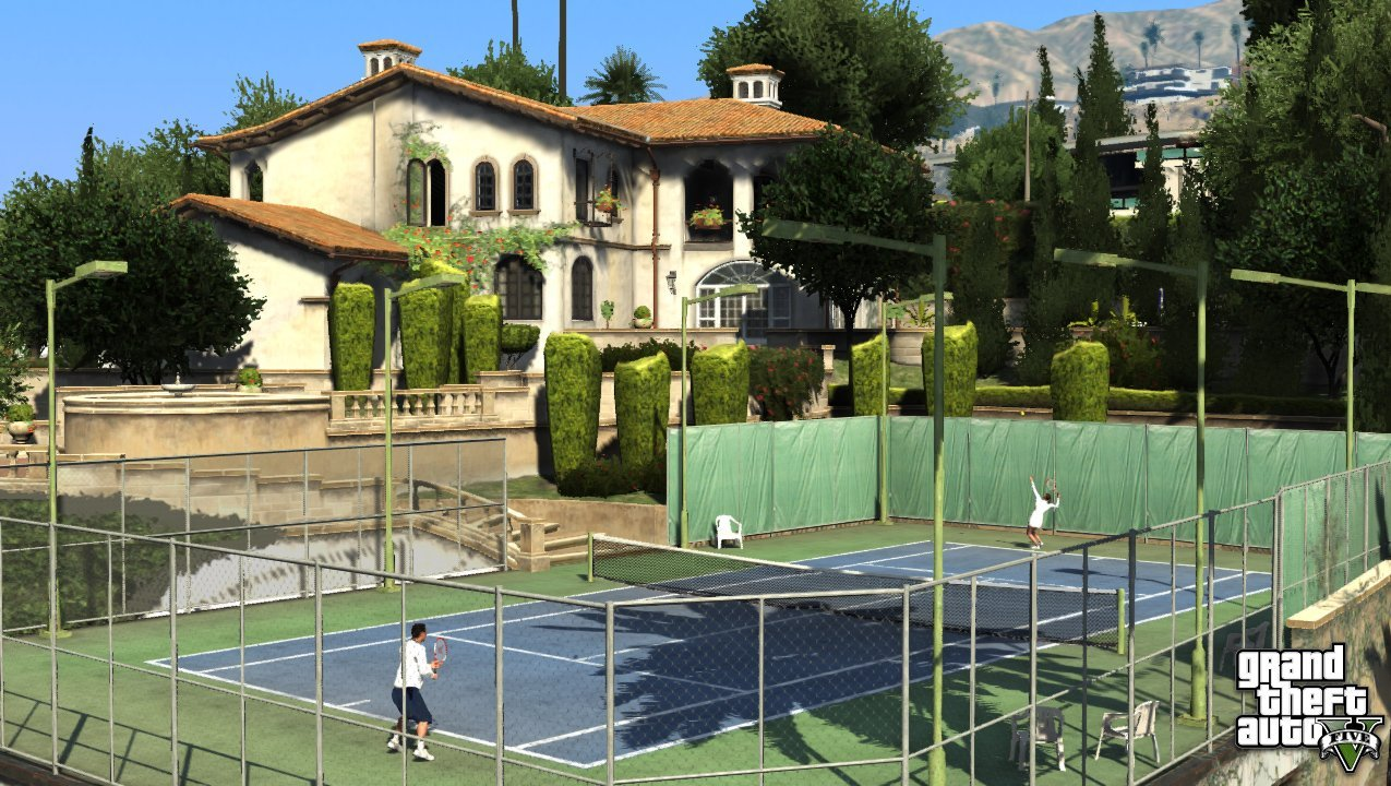 Qui pour un Tennis ?  - GTA5france.com
