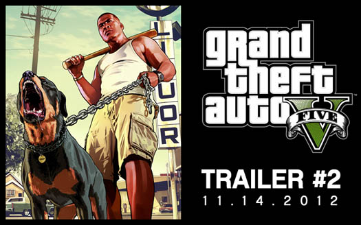 2eme trailer GTA5 - GTA5france.com