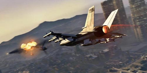 avion de chasse gta5 - GTA5france.com