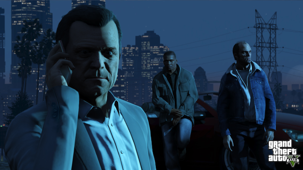 Michael, Trevor et Franklin - GTA5france.com