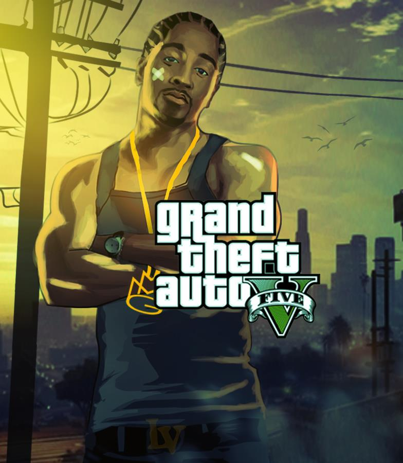 artwork grand theft auto v - GTA5france.com
