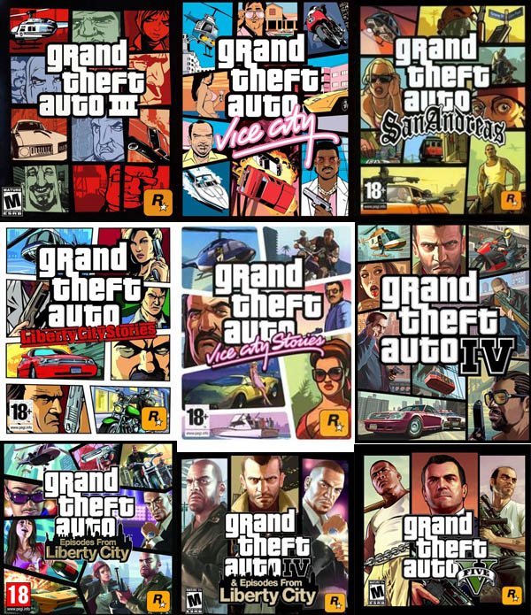box art of gta