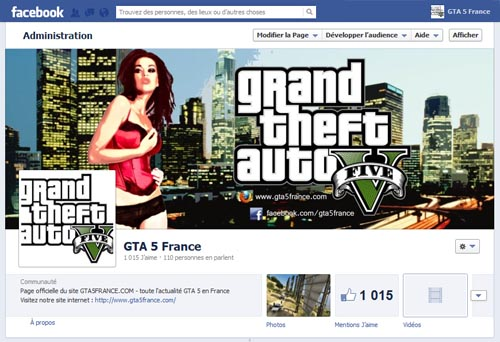 gta5 sur facebook - GTA5france.com