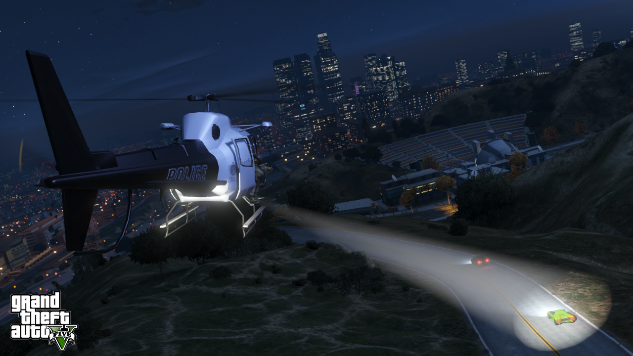 helico police gta 5