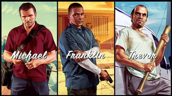 personnages gta5