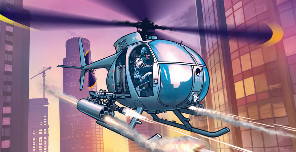 helicoptere police - GTA5france.com