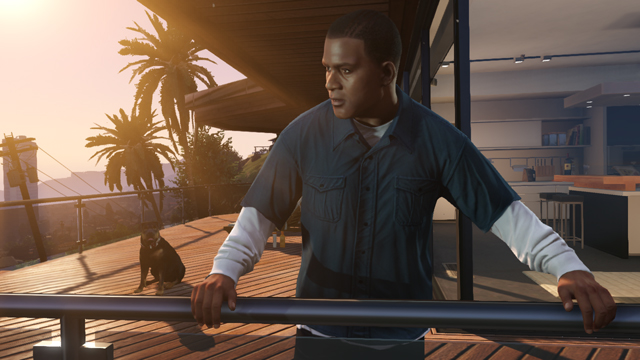 franklin et chop - GTA5france.com