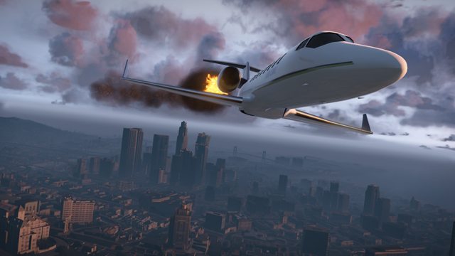 jet prive feu - GTA5france.com