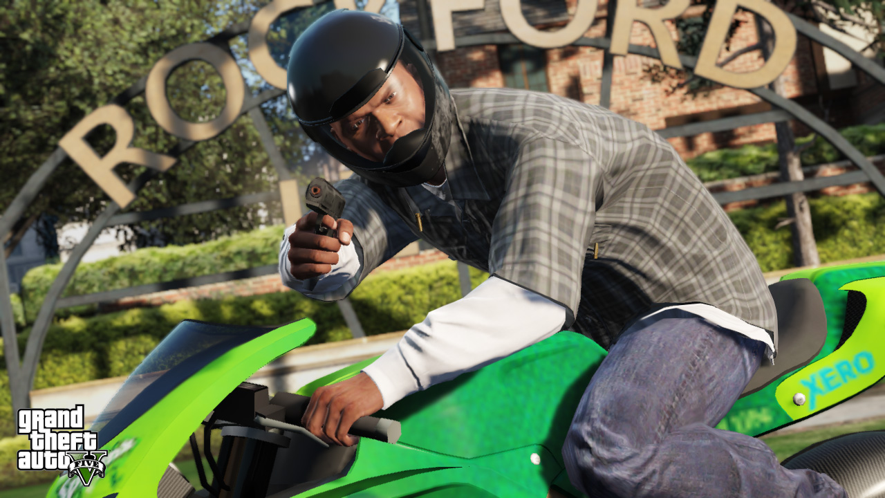 moto franklin - GTA5france.com