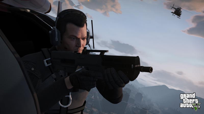 michael helico - GTA5france.com