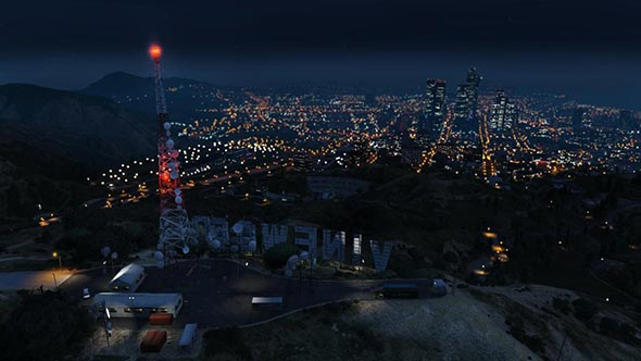 vinewood by night - GTA5france.com