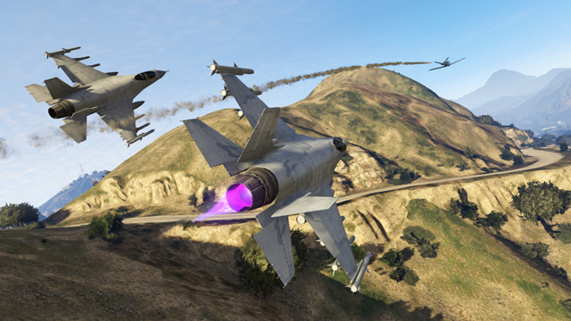 lazer p 996 gta5 - GTA5france.com