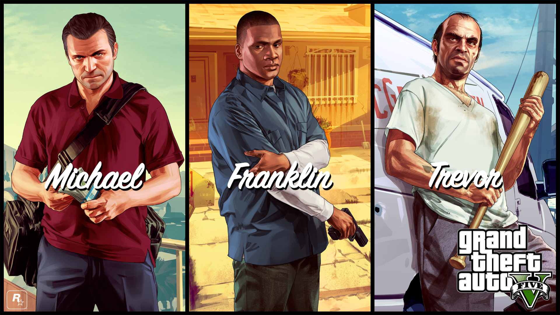 michael franklin trevor - GTA5france.com