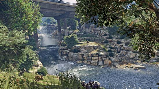 cascade gta5 pc - GTA5france.com