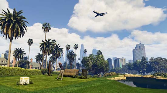 gta5 pc golf - GTA5france.com
