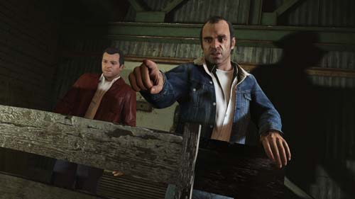trevor et michael - GTA5france.com