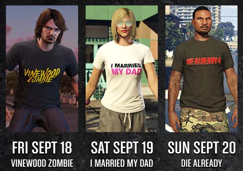 tshirt unique gta online