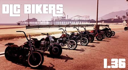 DLC BIKERS GTA5 - GTA5france.com
