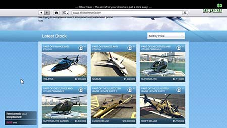 elitas travel achat avion helico - GTA5france.com