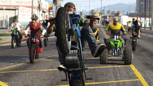 gang motards gta5 - GTA5france.com