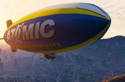 atomic blimp - GTA5
