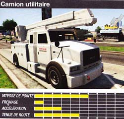camion utilitaire - GTA5