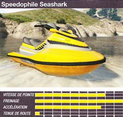 speedophile seashark - GTA5