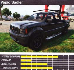 vapid sadler - GTA5